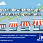 Things to know Before Applying For Franchise Opportunities
