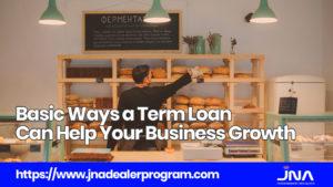 Basic Ways a Term Loan Can Help Your Business Growth