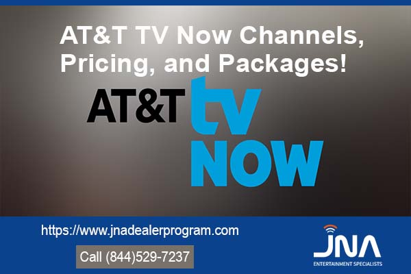 AT&T TV Now Channels, Pricing, and Packages!