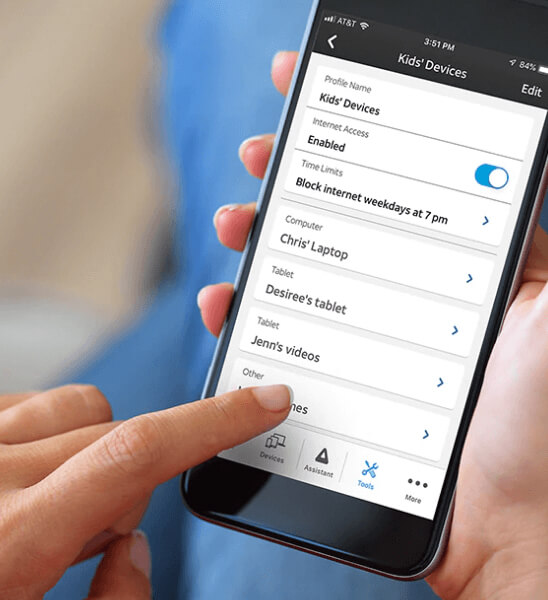 at&t smart home app
