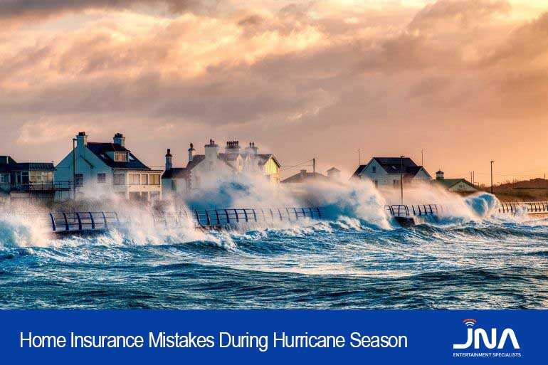 Home Insurance Mistakes During Hurricane Season