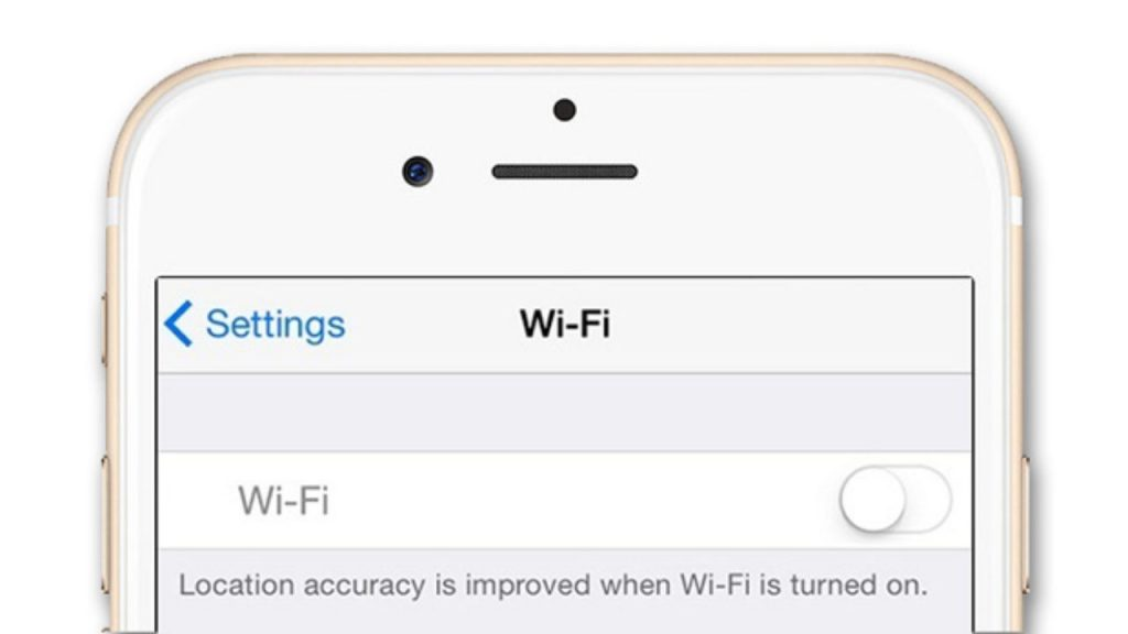 iPhone wifi grayed-out