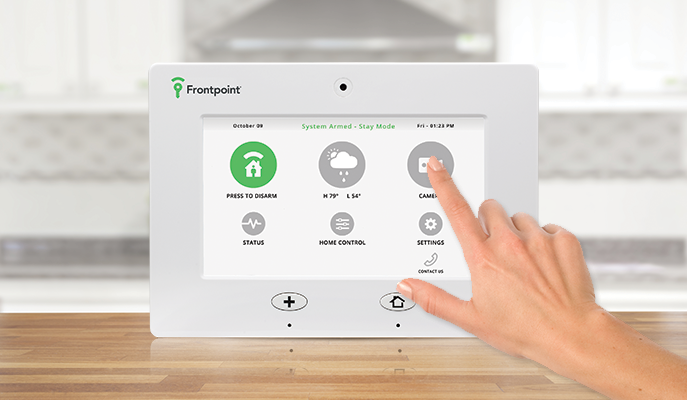 frontpoint home automation