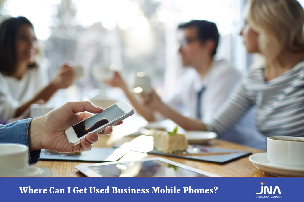 Where Can I Get Used Business Mobile Phones?