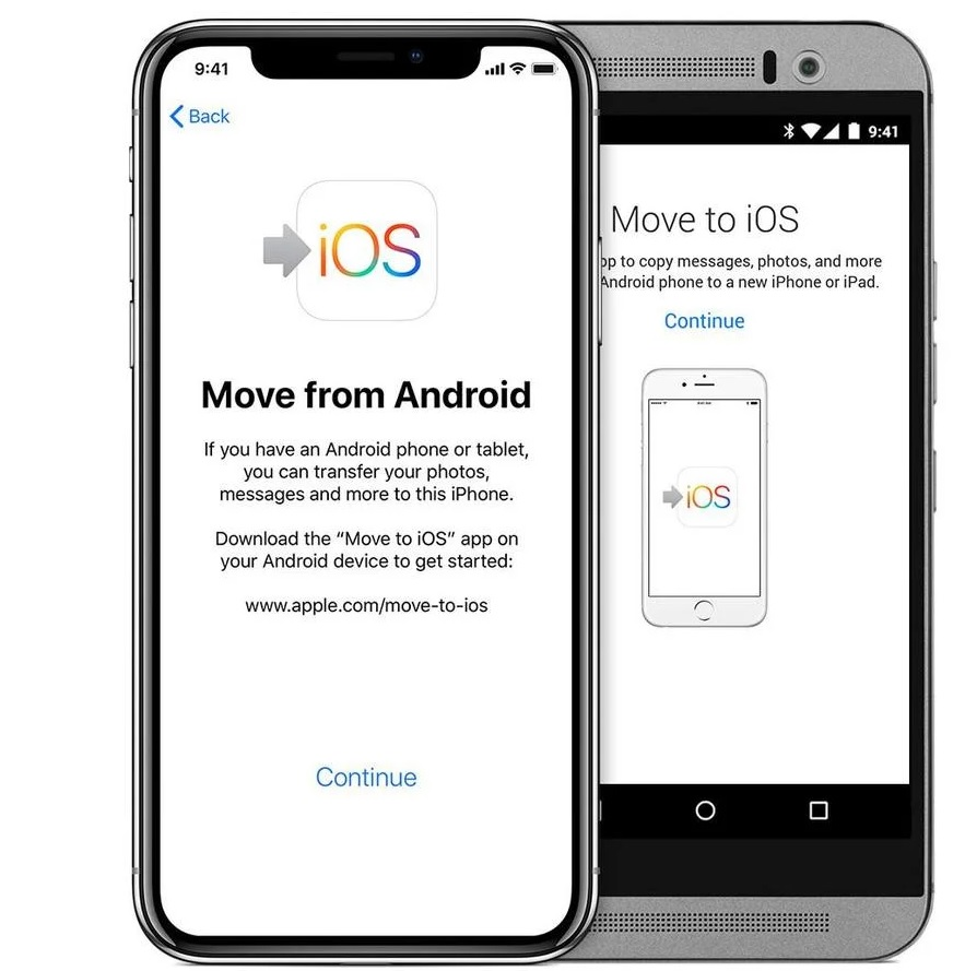 Transfer Contacts from Samsung to iPhone