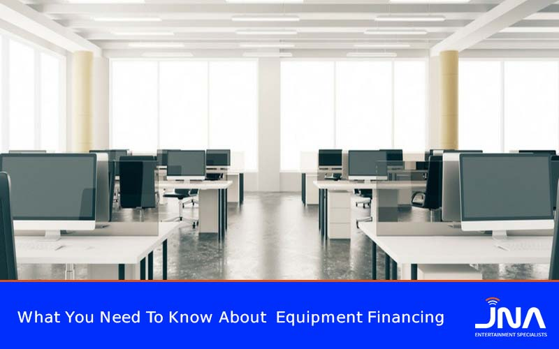 What You Need To Know About Equipment Financing